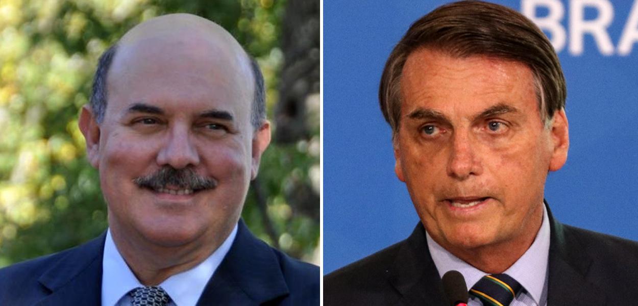 Jair Bolsonaro e Milton Ribeiro