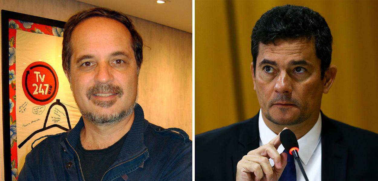 Rodrigo Vianna e Sergio Moro