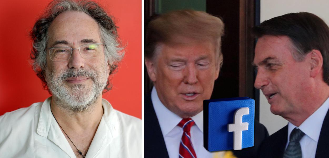 Pepe Escobar, Donald Trump e Jair Bolsonaro