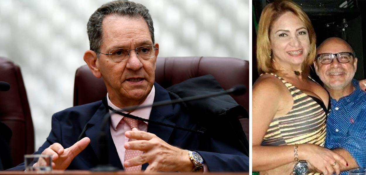João Otávio de Noronha, Márcia Aguiar e Fabrício Queiroz