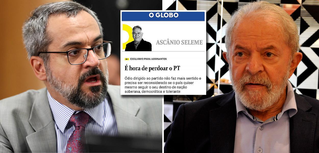 Abraham Weintraub e Lula