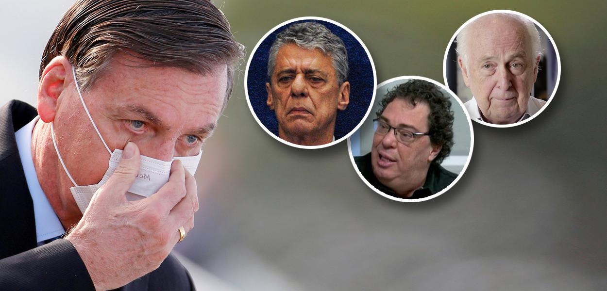Jair Bolsonaro, Chico Buarque, Casagrande e Bresser-Pereira