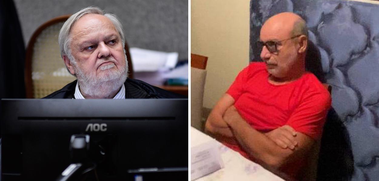Ministro Felix Fischer e Fabrício Queiroz