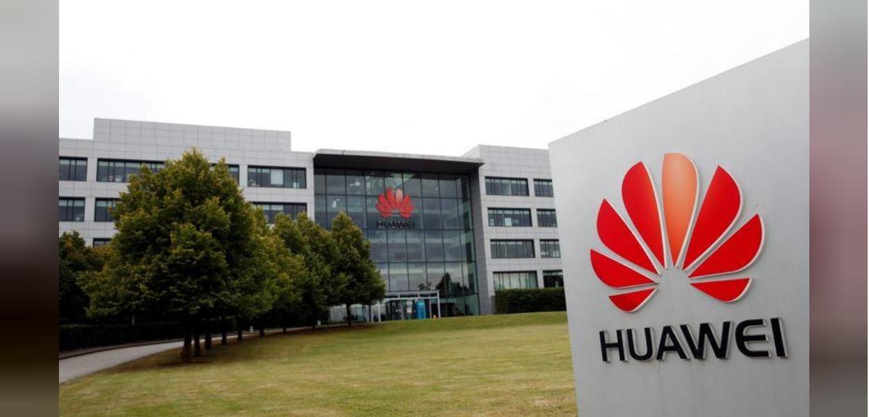 Prédio da Huawei em Reading, no Reino Unido
