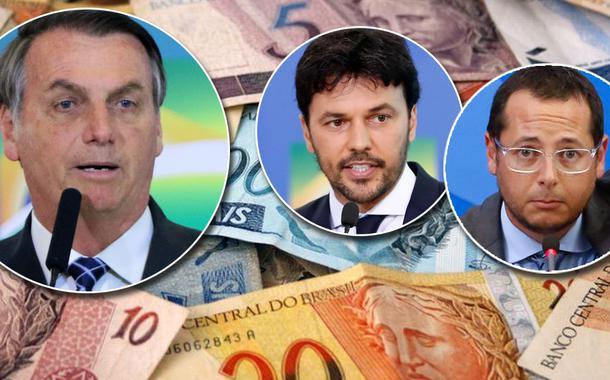 Jair Bolsonaro, Fábio Faria e Fabio Wajngarten