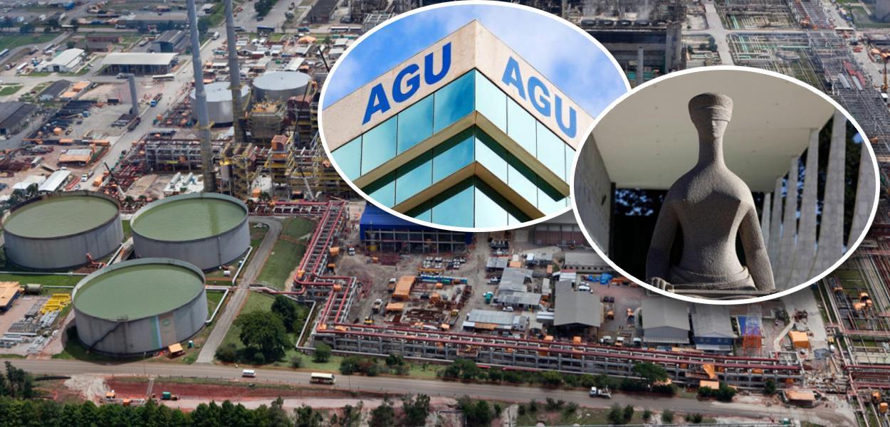 Refinaria do Paraná, AGU e STF
