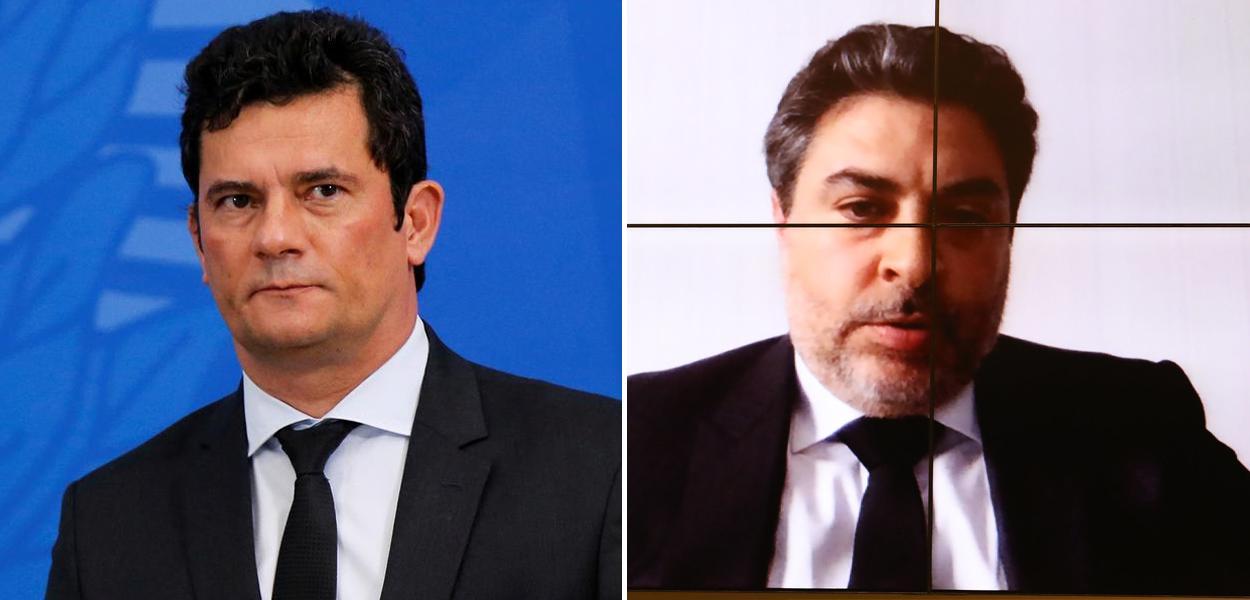 Sérgio Moro e Tacla Duran