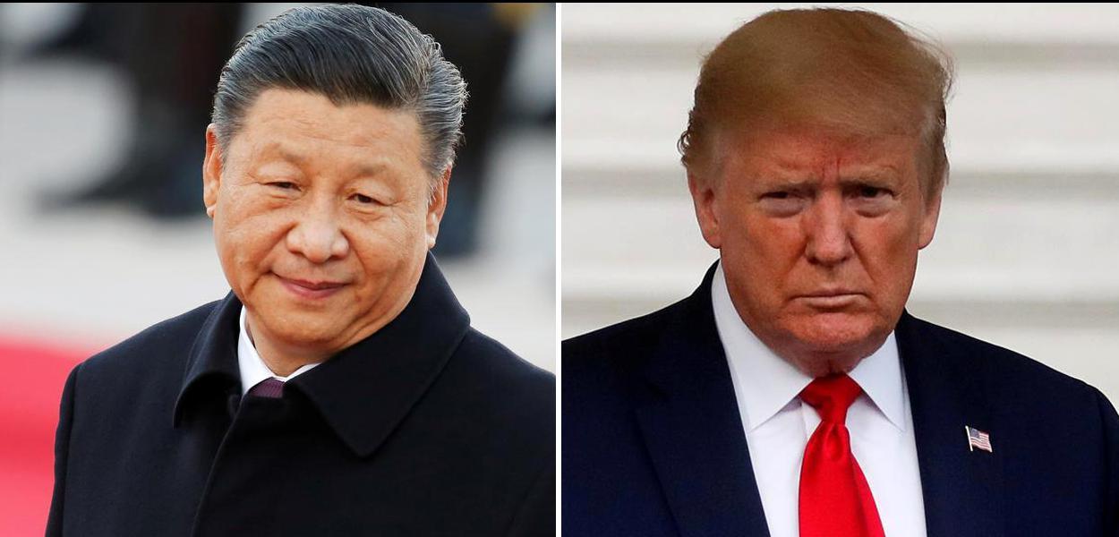 Xi Jinping e Trump.