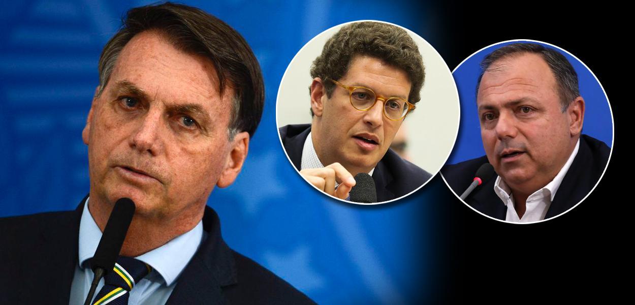 Jair Bolsonaro avisa que irá manter Pazuello e Salles no governo