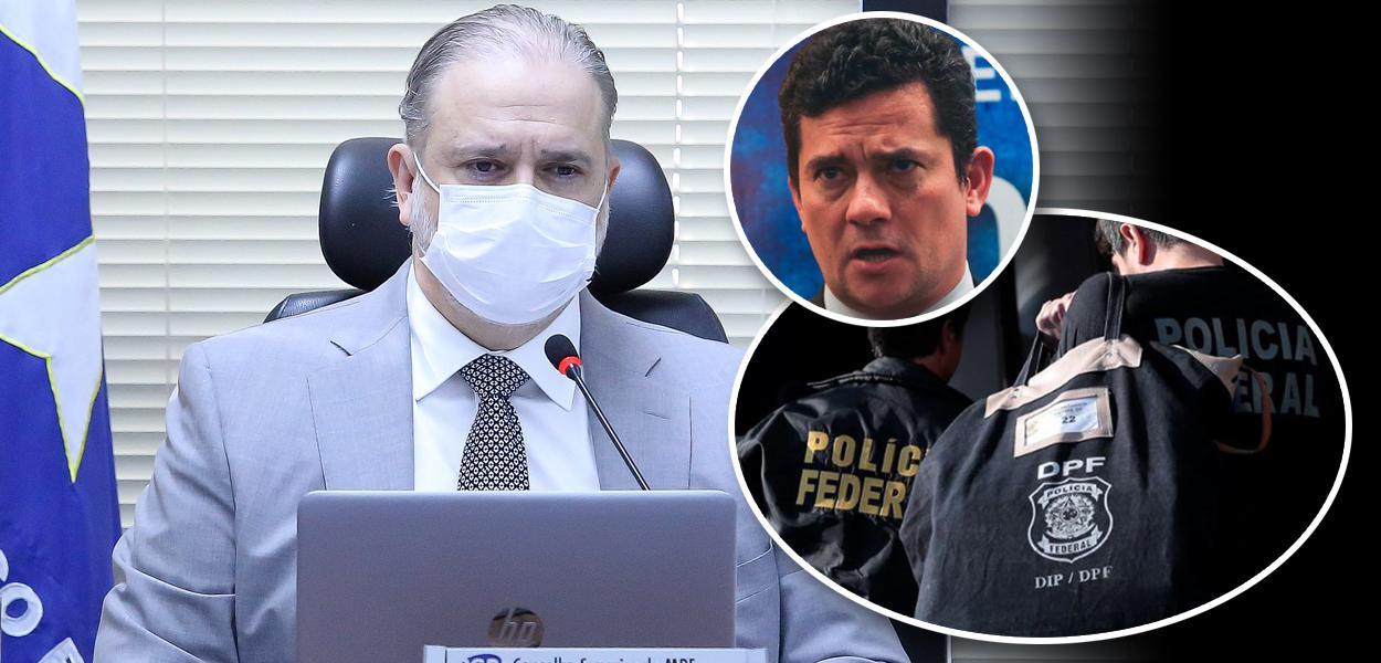 Augusto Aras, Sergio Moro e Polícia Federal