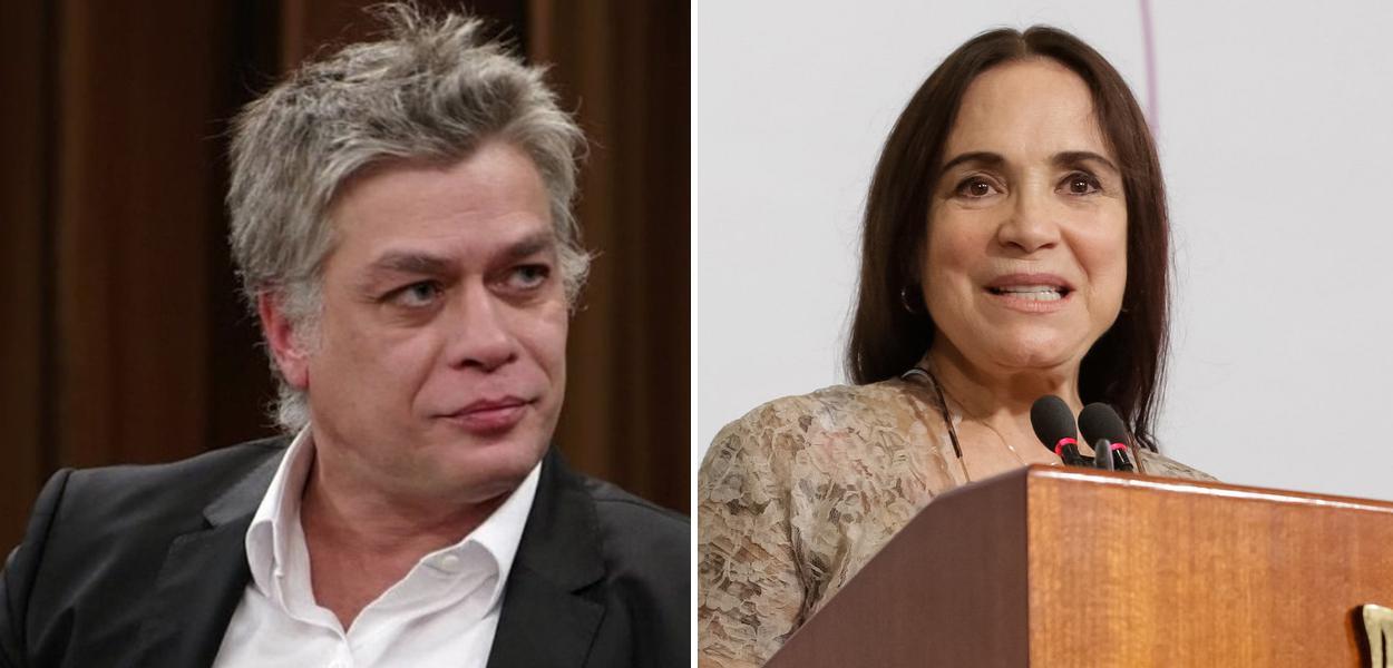 Fábio Assunção e Regina Duarte