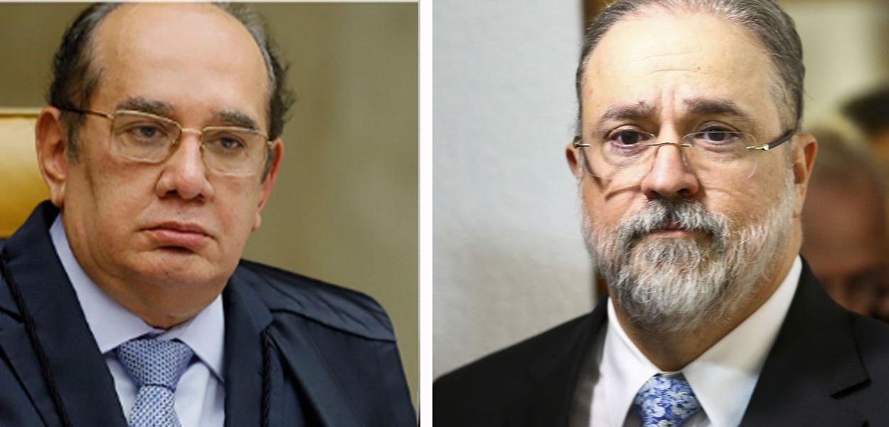 Gilmar Mendes e Augusto Aras