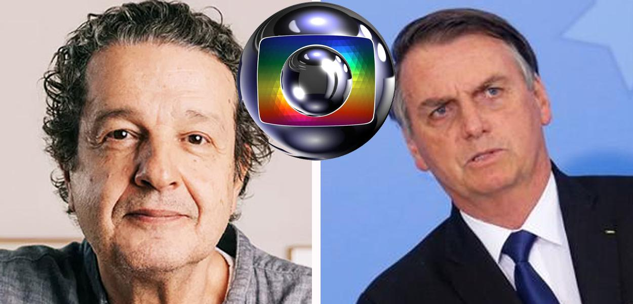 Juca Kfouri e Jair Bolsonaro