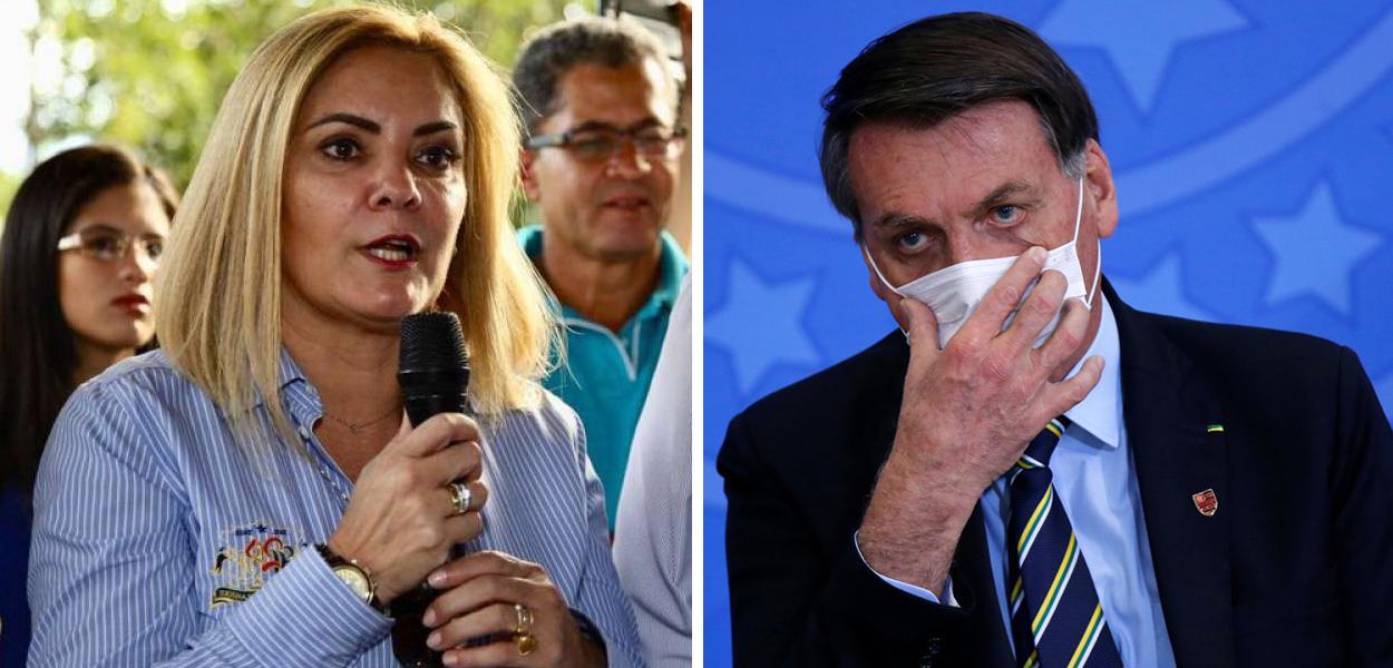 Ana Cristina Siqueira Valle e Jair Bolsonaro