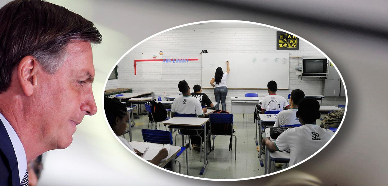 Jair Bolsonaro e sala de aula