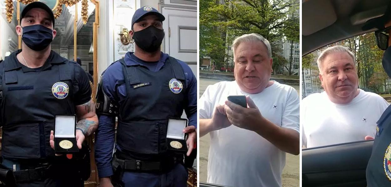 Cícero Hilário Roza, Roberto Guilhermino da Silva e Desembargador Eduardo Siqueira