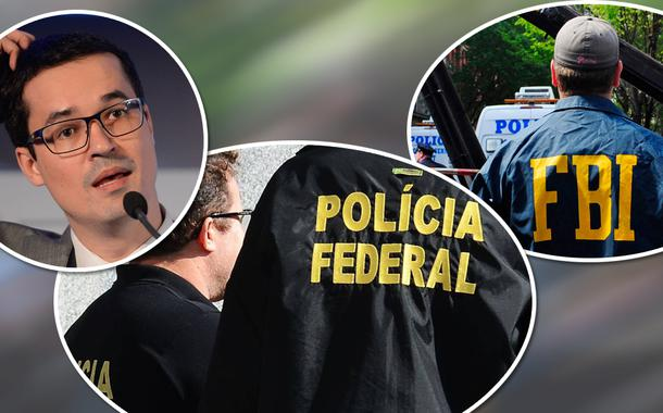 Deltan Dallagnol, Polícia Federal e FBI
