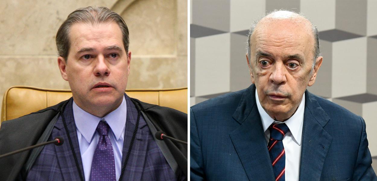 Dias Toffoli e José Serra