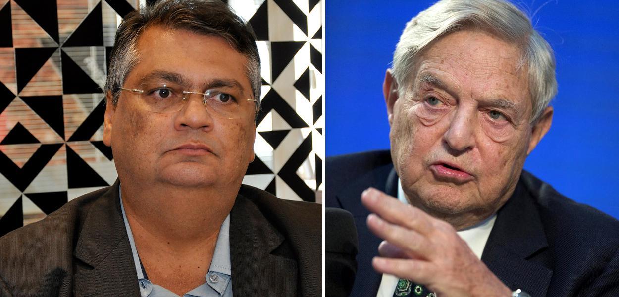 Flávio Dino e George Soros