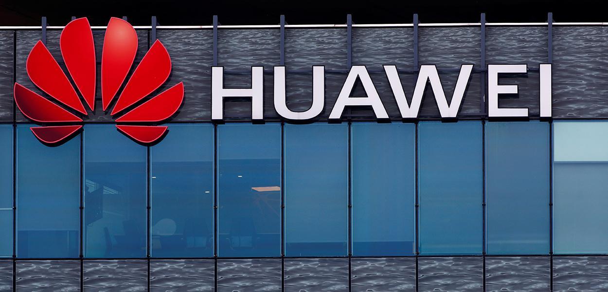 Huawei Technologies, em Boulogne-Billancourt, perto de Paris, França 15/07/2020