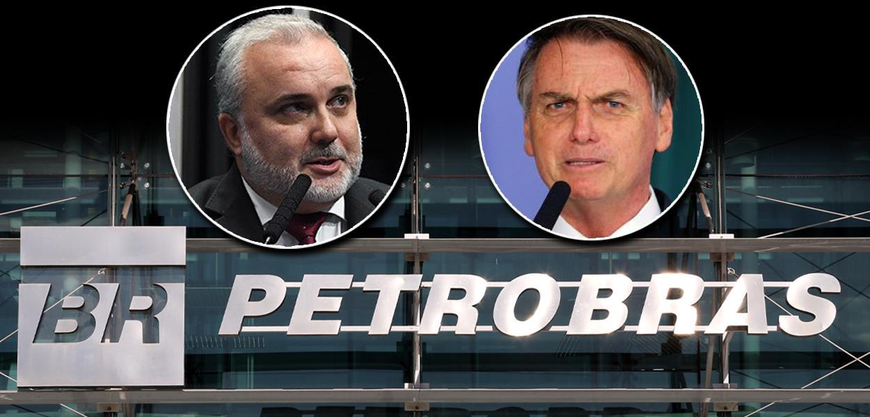 Jean Paul Prates e Jair Bolsonaro