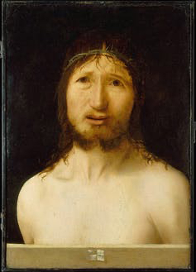 Cristo de Antonello da Messina