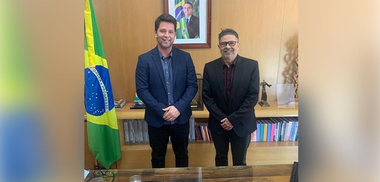 Mário Frias e Zé Henrique