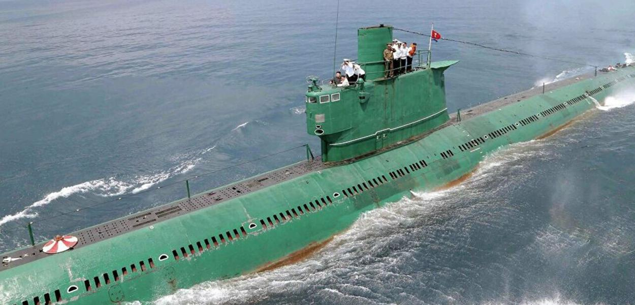 Submarino norte-coreano
