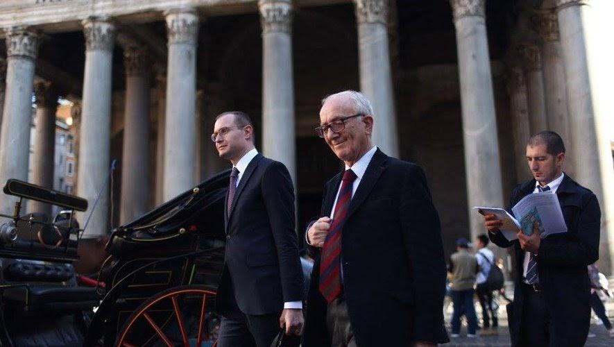 Advogado Cristiano Zanin e o jurista Luigi Ferrajoli