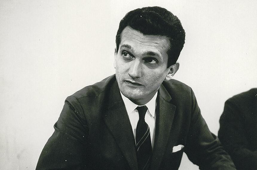 Economista Celso Furtado em 1962