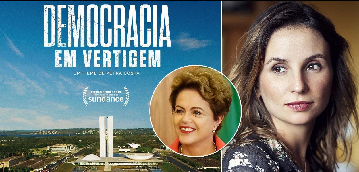 Dilma Rousseff e Petra Costa