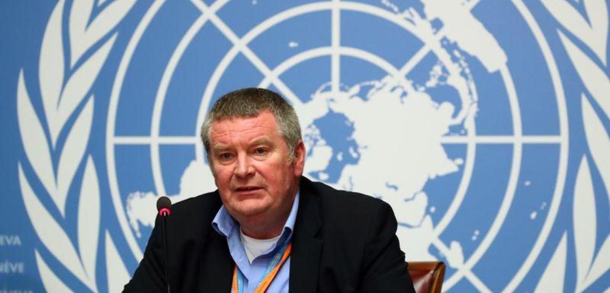 Chefe do programa de emergências da Organização Mundial da Saúde (OMS), Mike Ryan