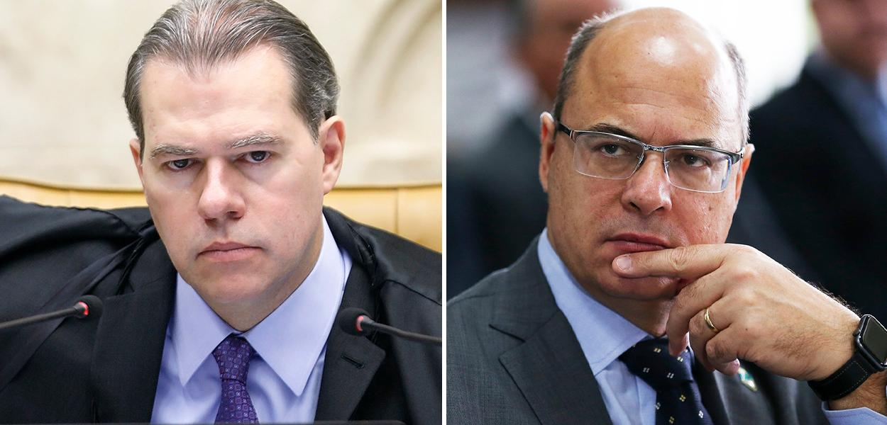 Dias Toffoli e Wilson Witzel