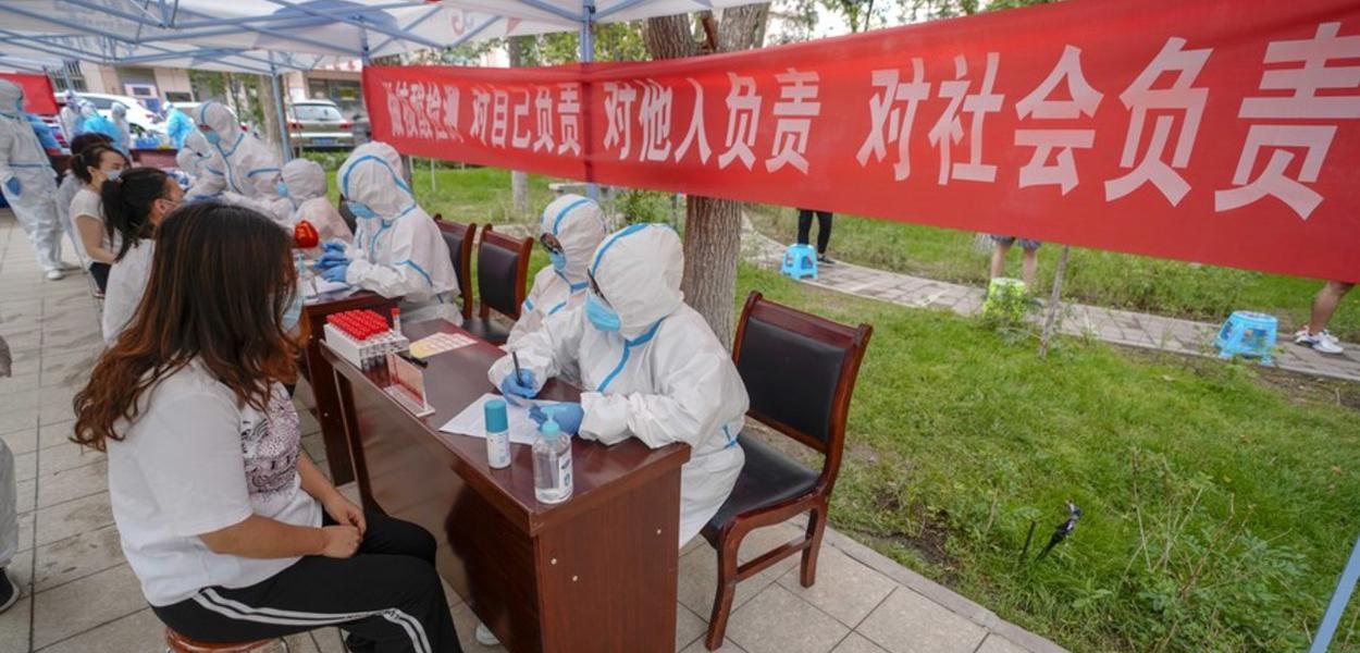 China relata novos casos de Covid-19