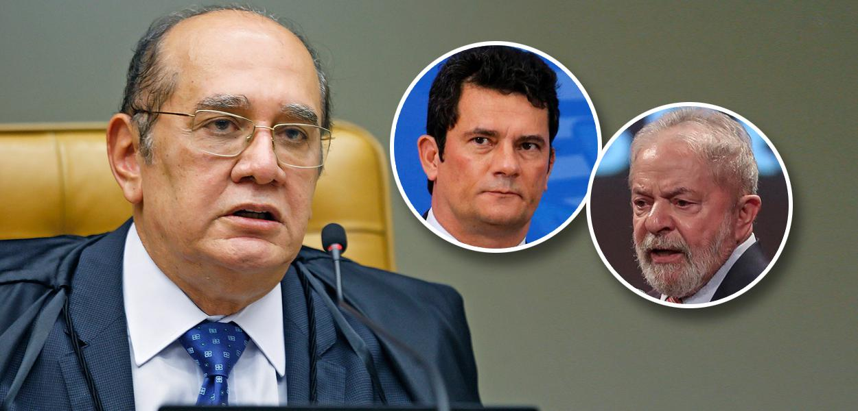 Gilmar Mendes, Sérgio Moro e Lula