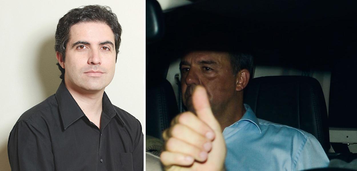Bernardo Mello Franco e Sérgio Cabral