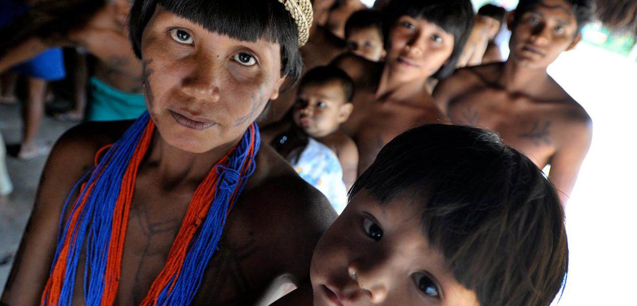Valores indigenas Funai