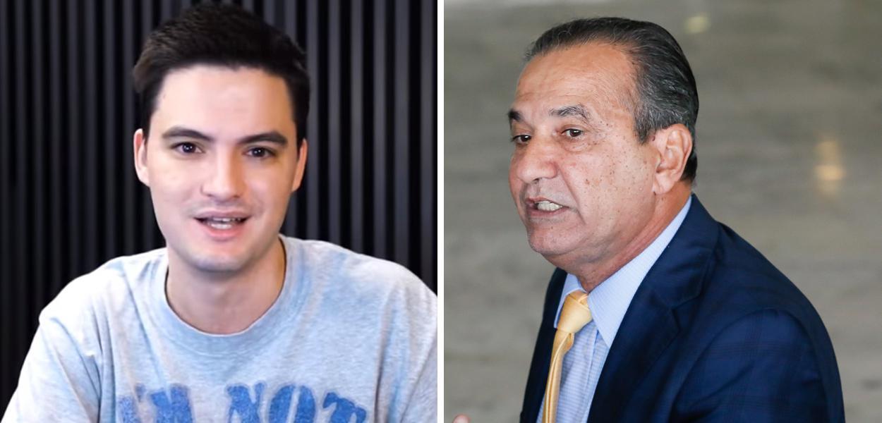 Felipe Neto e Silas Malafaia