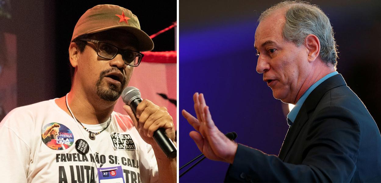 André Constantine e Ciro Gomes