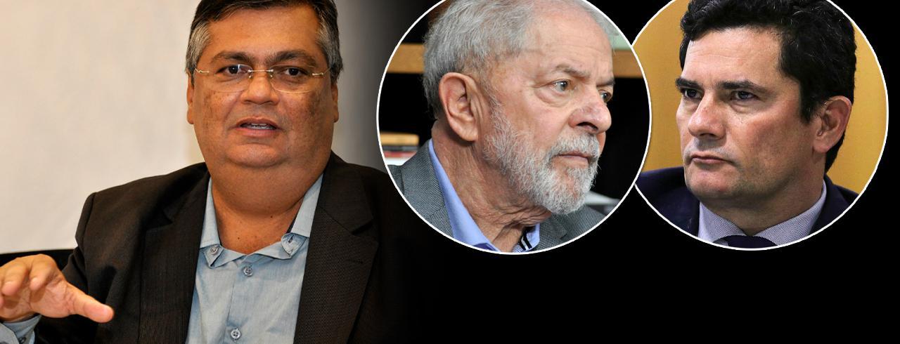 Flávio Dino, Lula e Sérgio Moro
