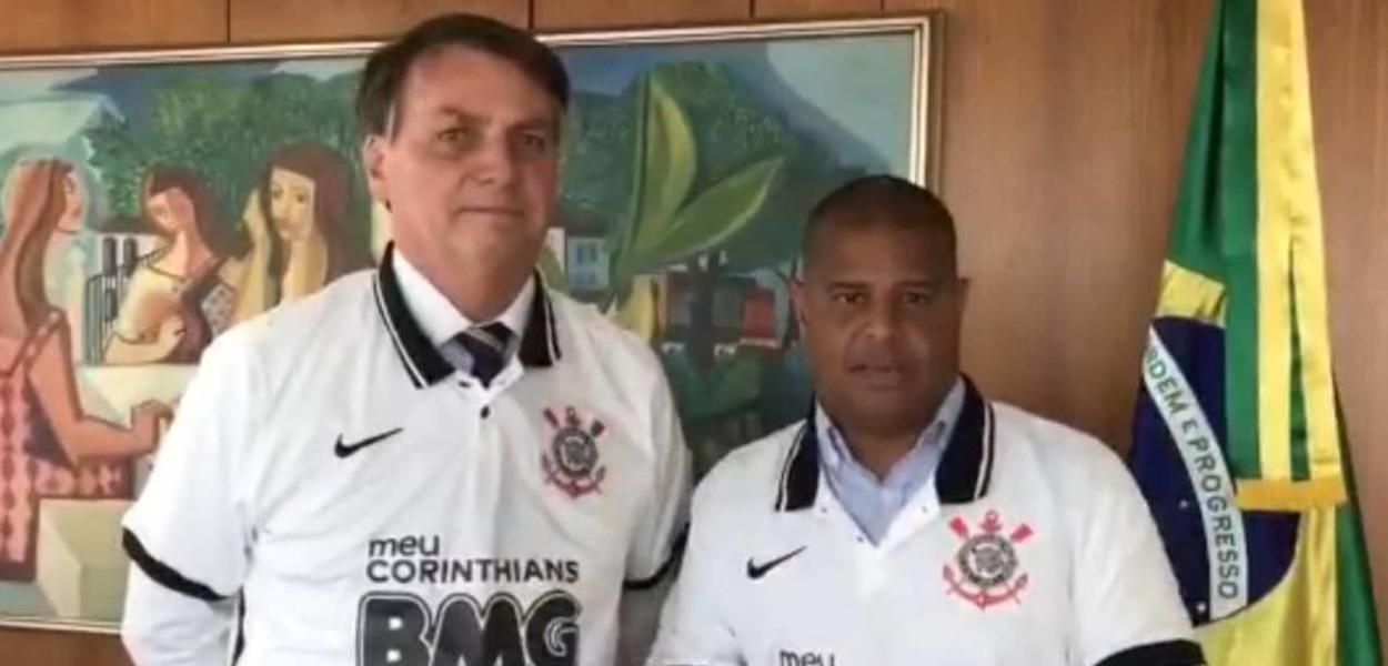 Jair Bolsonaro e Marcelinho Carioca