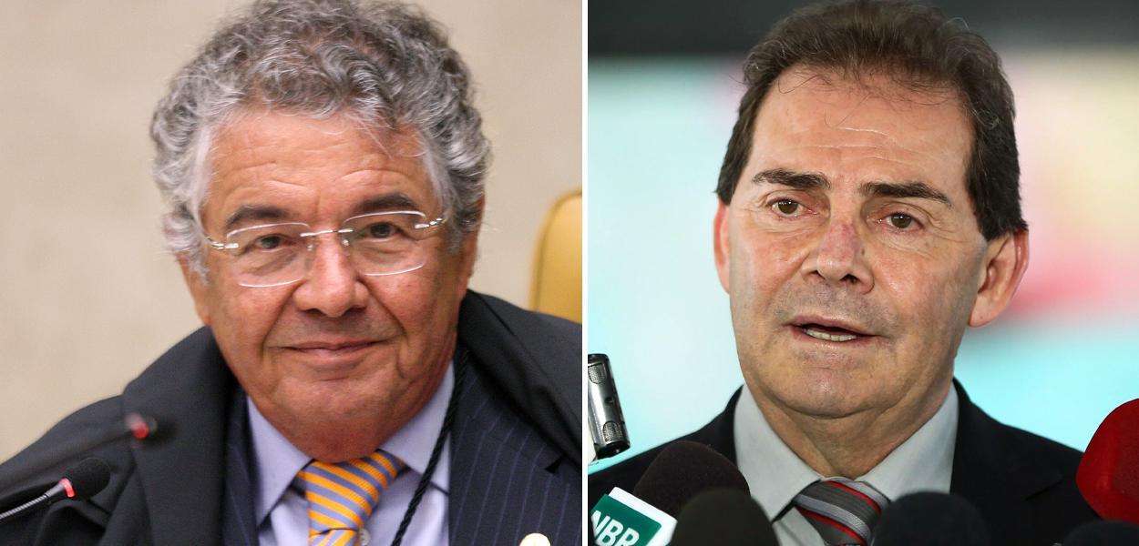 Marco Aurélio Mello e Paulinho da Força