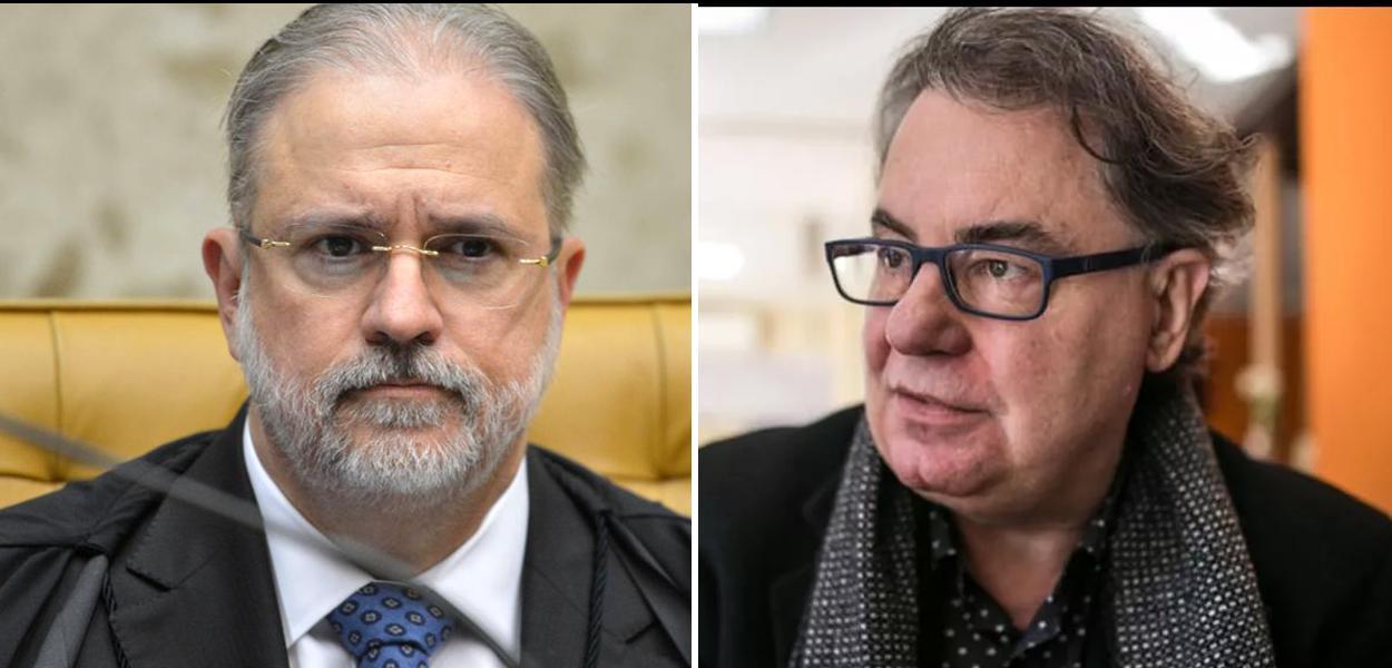 Augusto Aras e Lenio Streck.