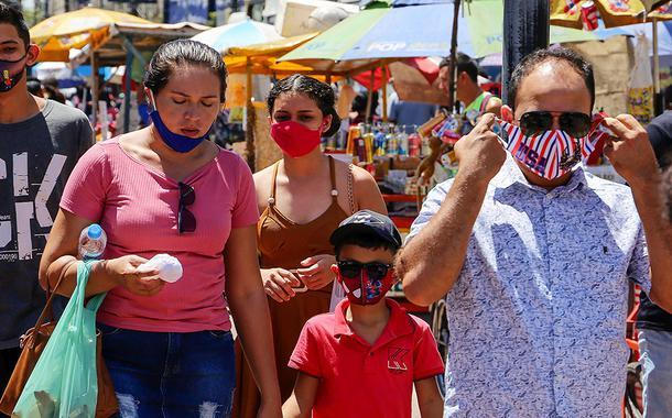 Cotidiano – movimento em Belém – Comércio 28 de julho de 2020