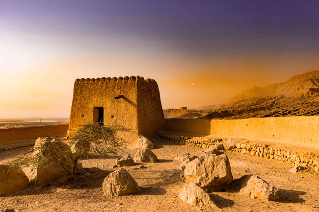 Forte Dhaya, Emirados Árabes Unidos