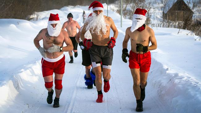 Papais Noel na Sibéria