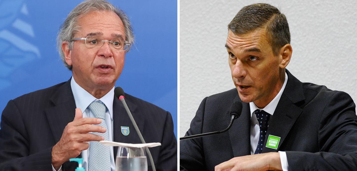 Paulo Guedes e André Brandão