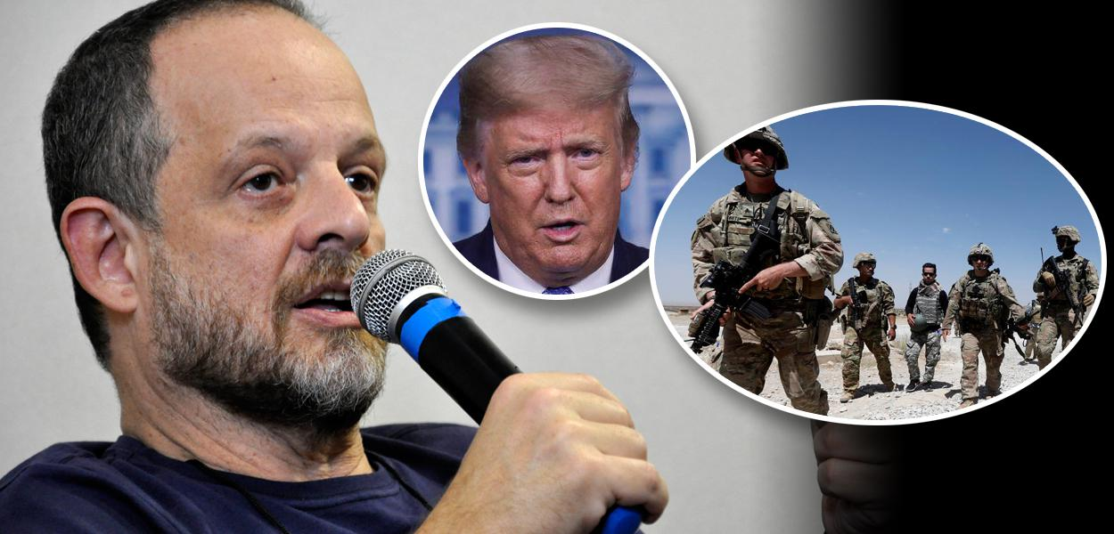 Breno Altman, Donald Trump e tropas americanas