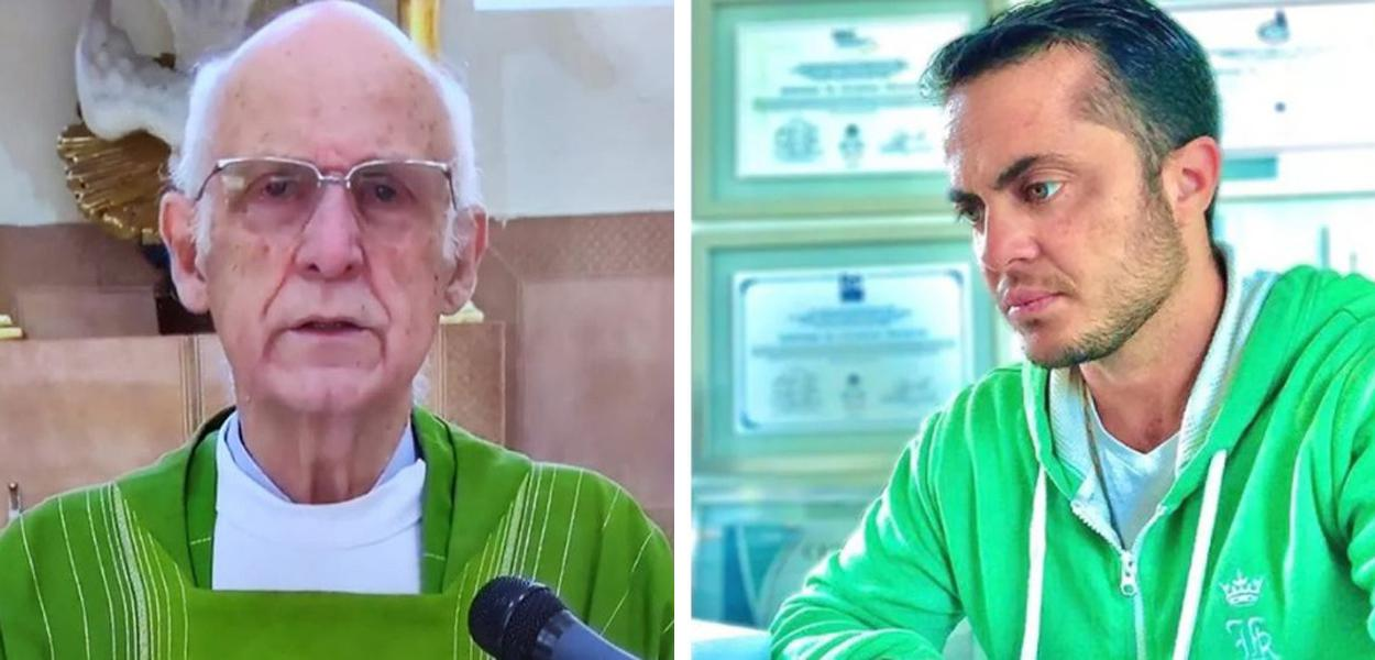 Padre Júlio Lancelotti e Thammy Miranda