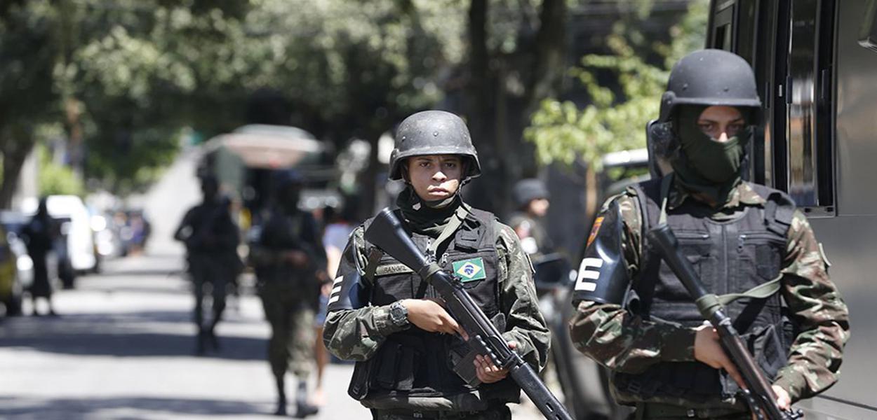 Forças militares no estado do Rio